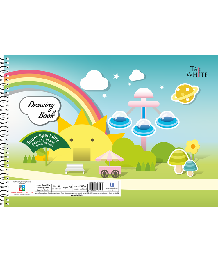 buy online drawing book a4 29 7 21 cm tw pg40