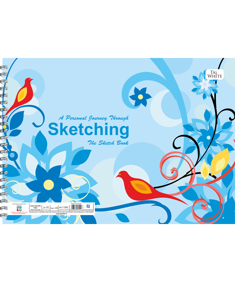 Buy online Drawing Book A3 29.7 X 42 Cm Tw Pg100