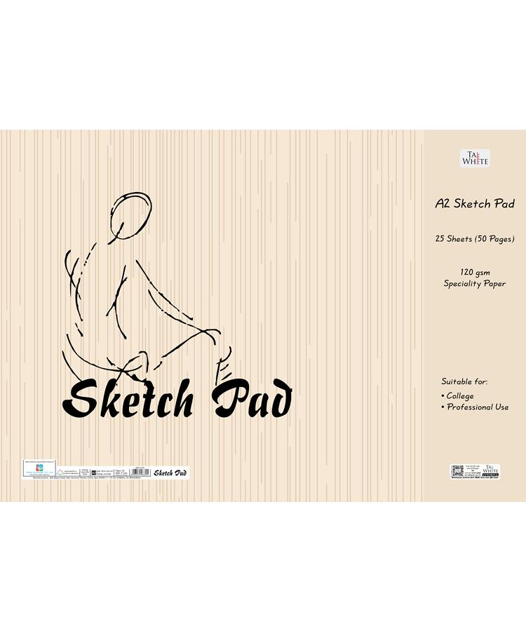 Drawing Book Sketch Pad 59.4 * 42 cm - Unruled Pg 50