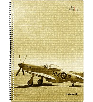 Spiral Notebook A4 (29.7 * 21 cm) - Unruled Pg 120