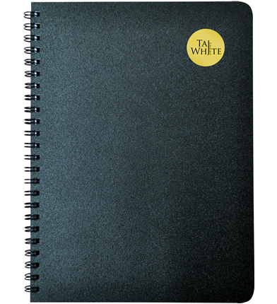 Wire-O Notebook B5 (25 * 17.6 cm) - Single Line Pg 100
