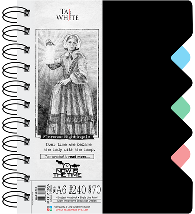 Buy Wire-O Notebook A6 (14 8 * 10 5 cm) Size Online