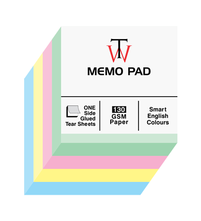 Memo Pad - Small - Unruled 500 sheets