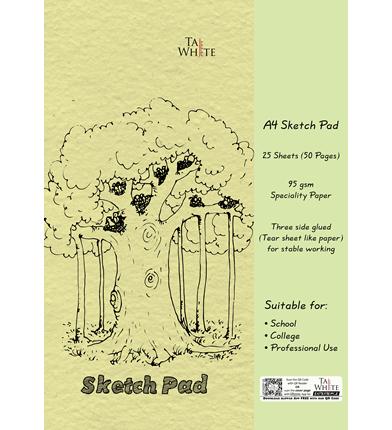 Drawing Book 21 * 29.7 cm - Cartraige Sheet Pg 50